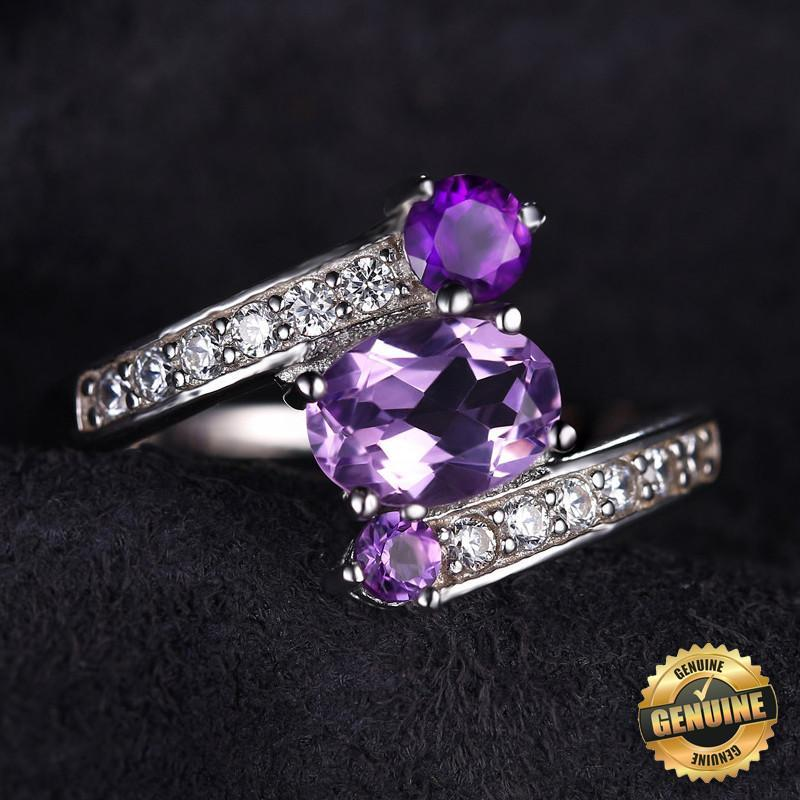June Birthstone 1.2ct Alexandrite S925 Ring