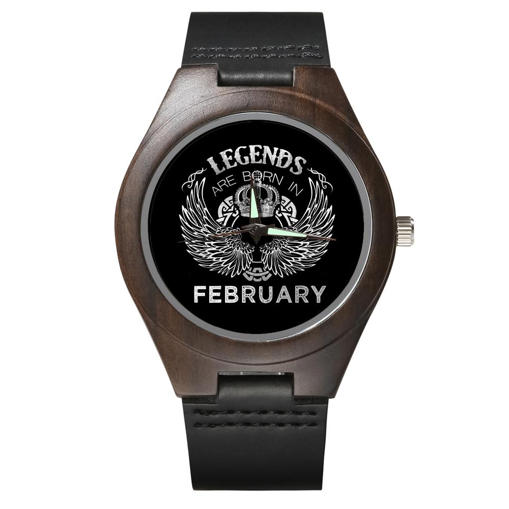 February Legends - Wood Watch