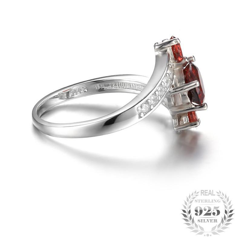 January Birthstone 1.2ct Garnet S925 Ring