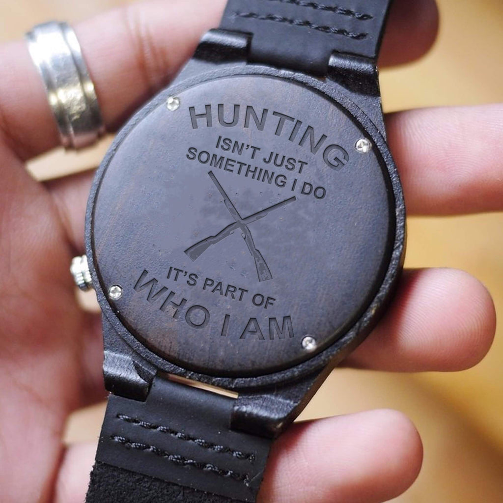Hunting - Part Of Me - Wood Watch
