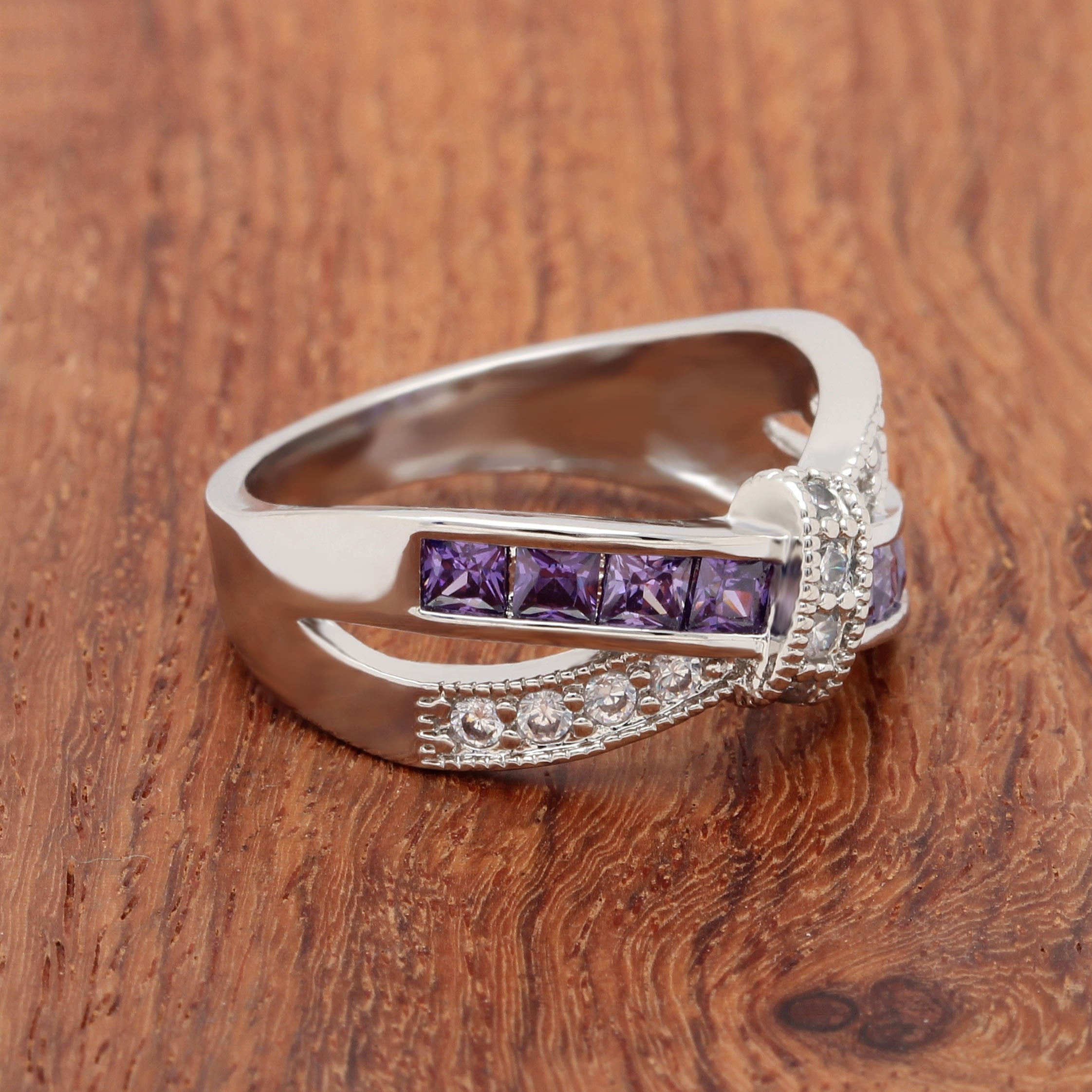 cut gemstone ring pink june in wedding rings cushion birthstone silver sterling amethyst
