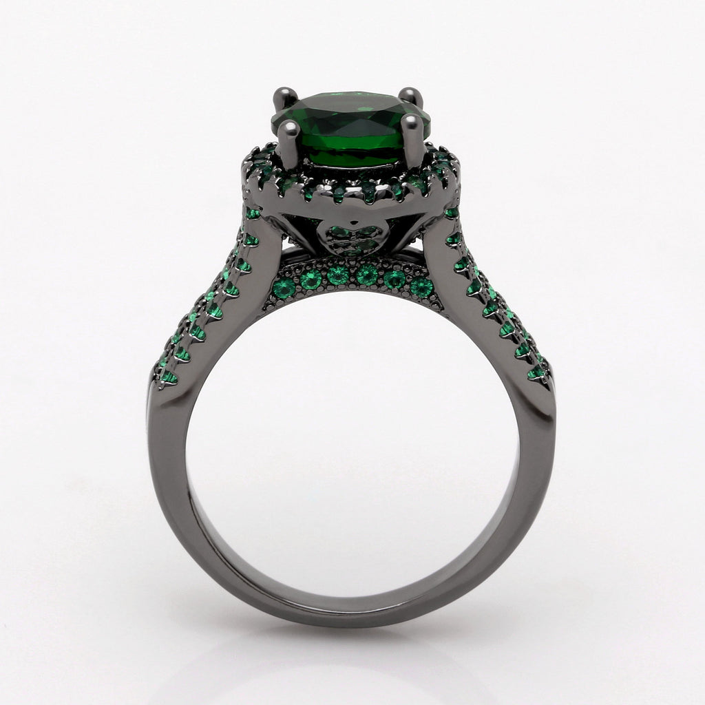 May Crown Emerald Ring