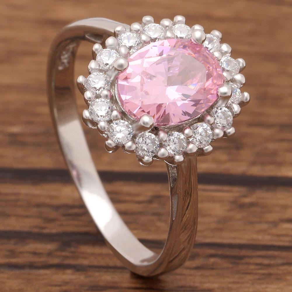 Princess Diana inspired 3.2ct Tourmaline S925 Ring (October)