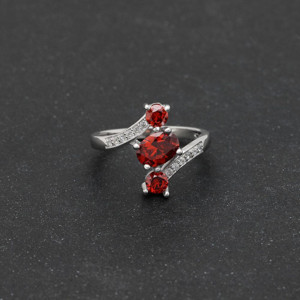 July Birthstone 1.2ct Ruby S925 Ring
