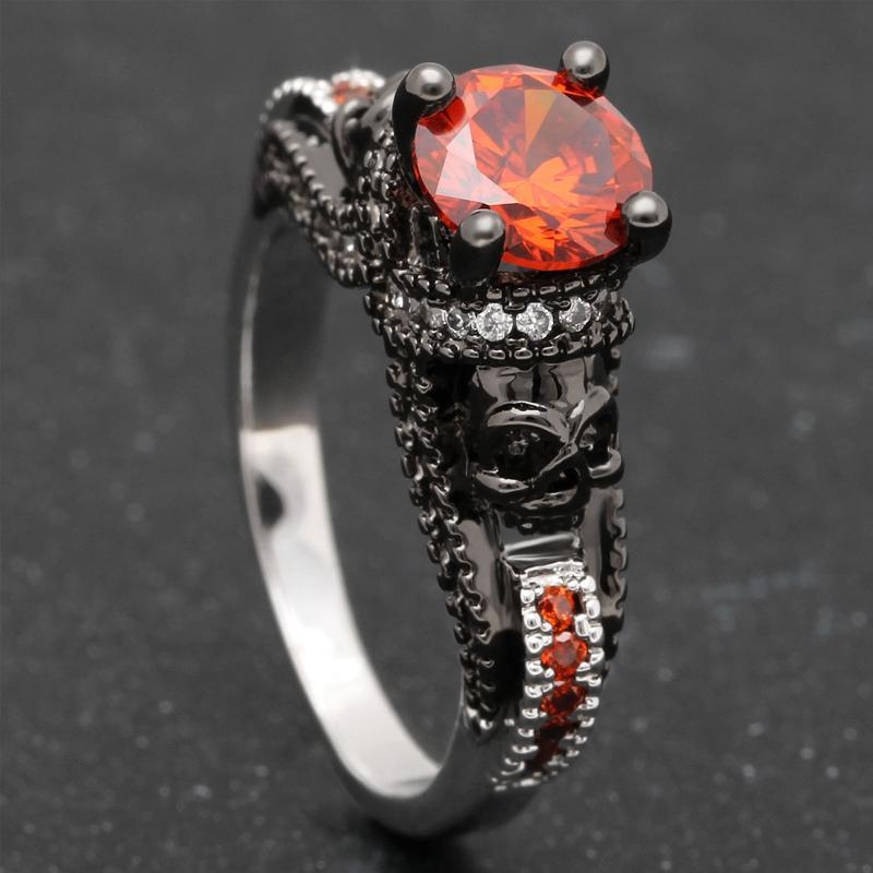 Vintage-style July Birthstone Ring