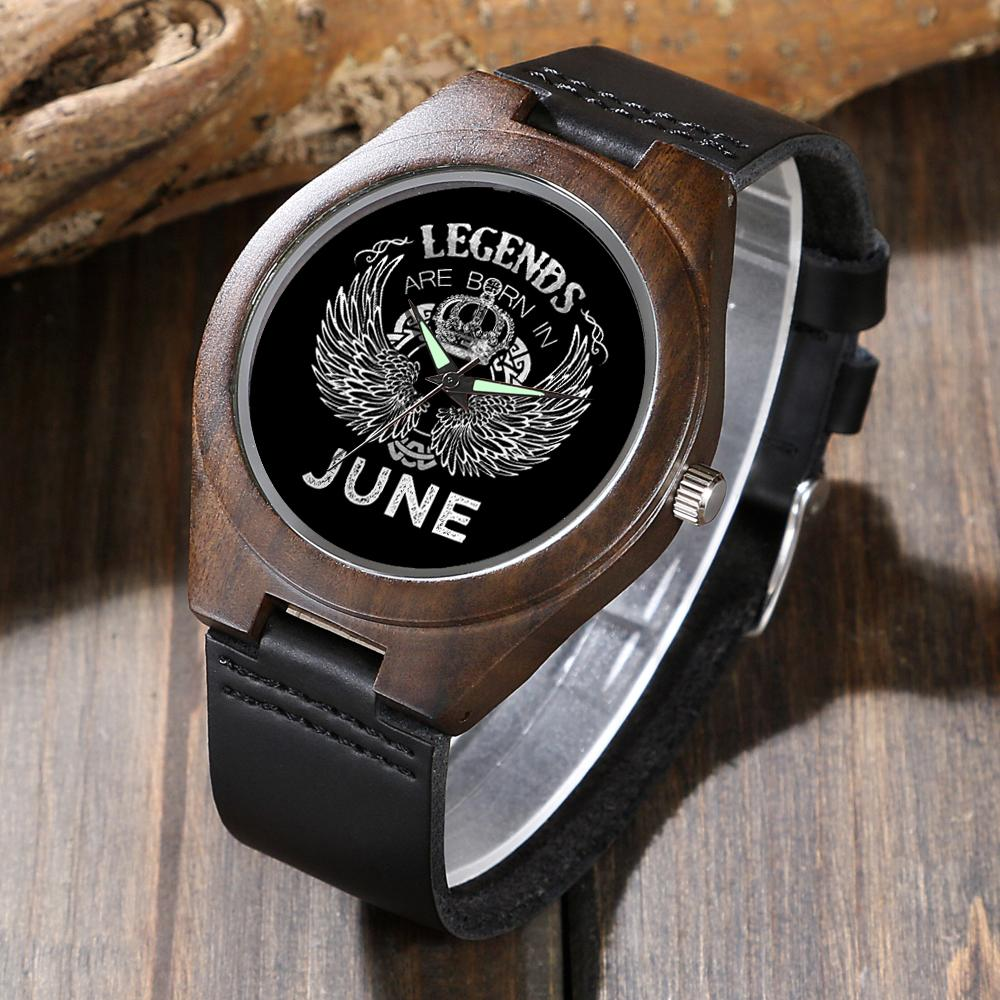 June Legends - Wood Watch