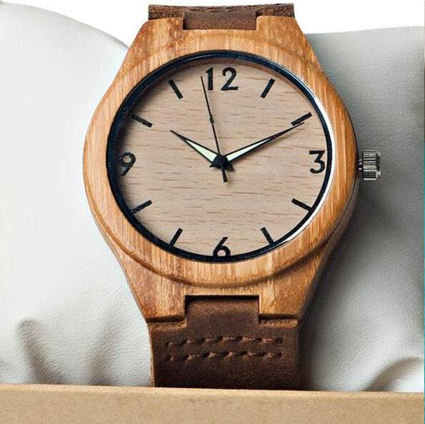 I Love You Then - I Love You Still - Custom Name Wood Watch