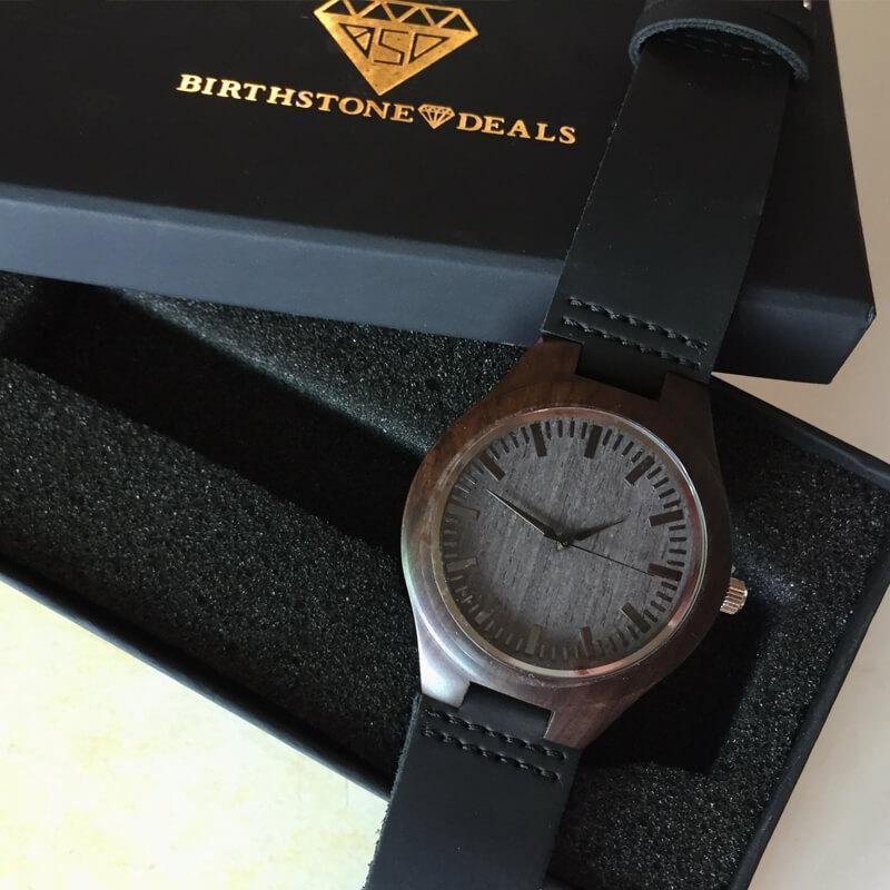 My Wife - Mother of My Daughter - Wood Watch
