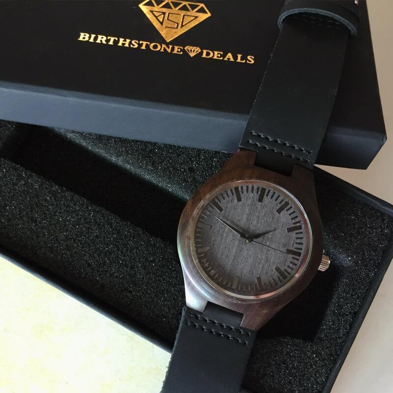 To My Son - Greatest Accomplishment - Wood Watch