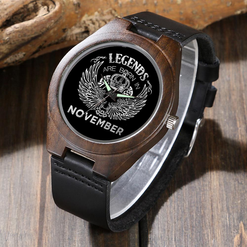 November Legends - Wood Watch