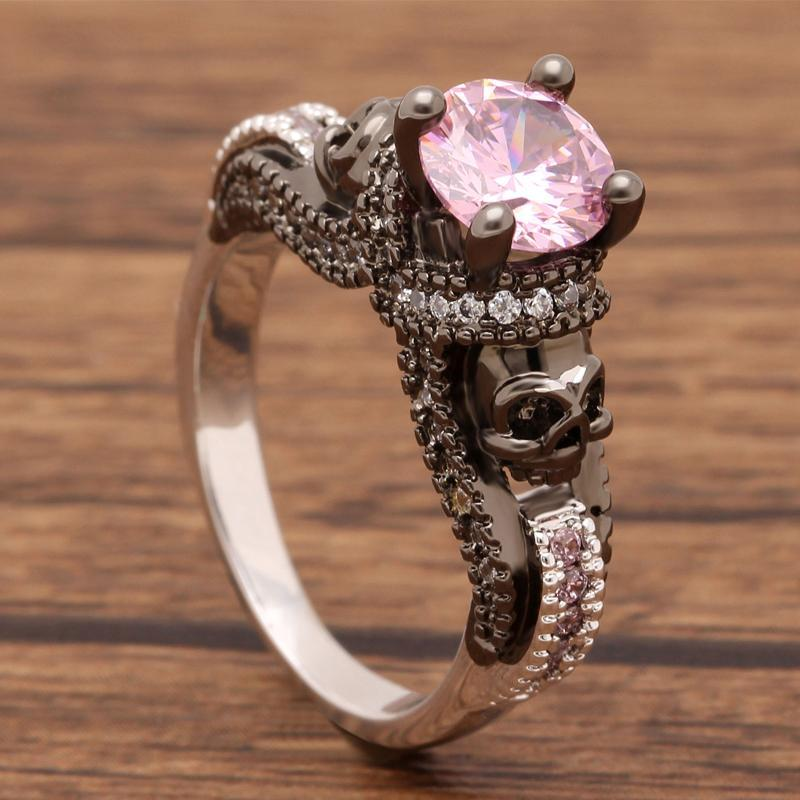 Vintage-style October Birthstone Ring