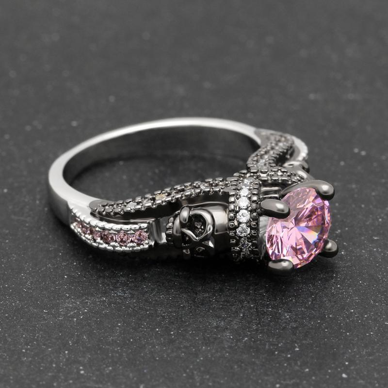 pink tourmaline birthstone ring rings october