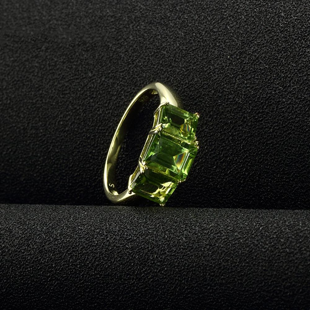August 2.50ct Manchurian Peridot Birthstone Ring