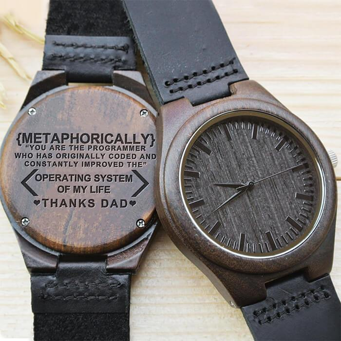 A Programmer's Dad - Wood Watch