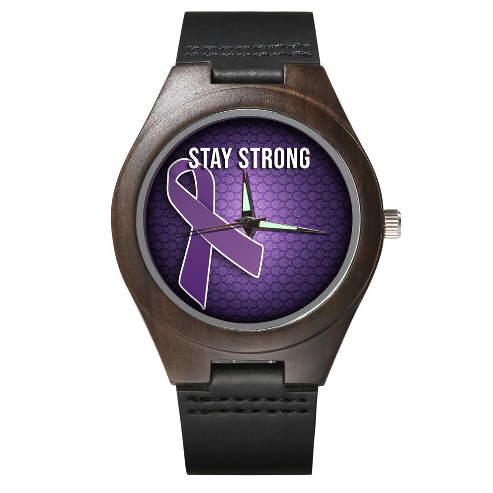 Fibromyalgia Support - Wood Watch