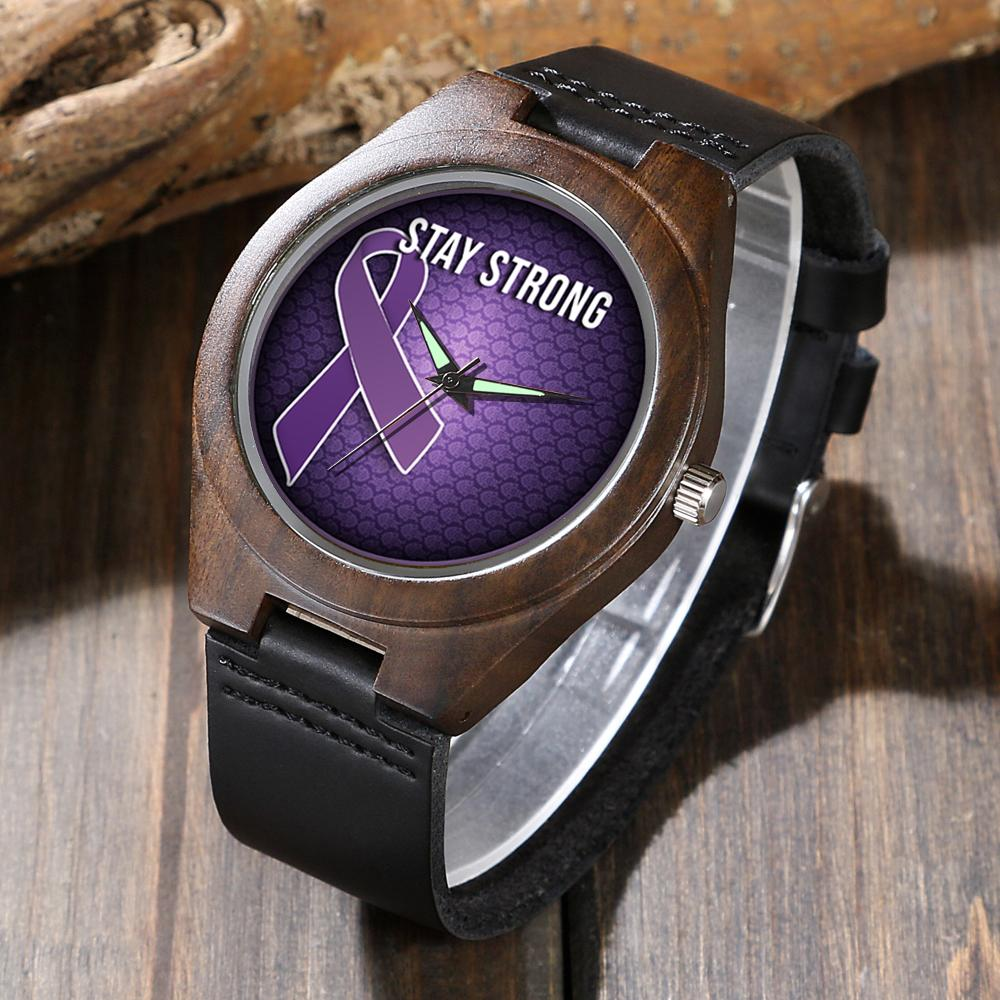 Lupus Support - Wood Watch