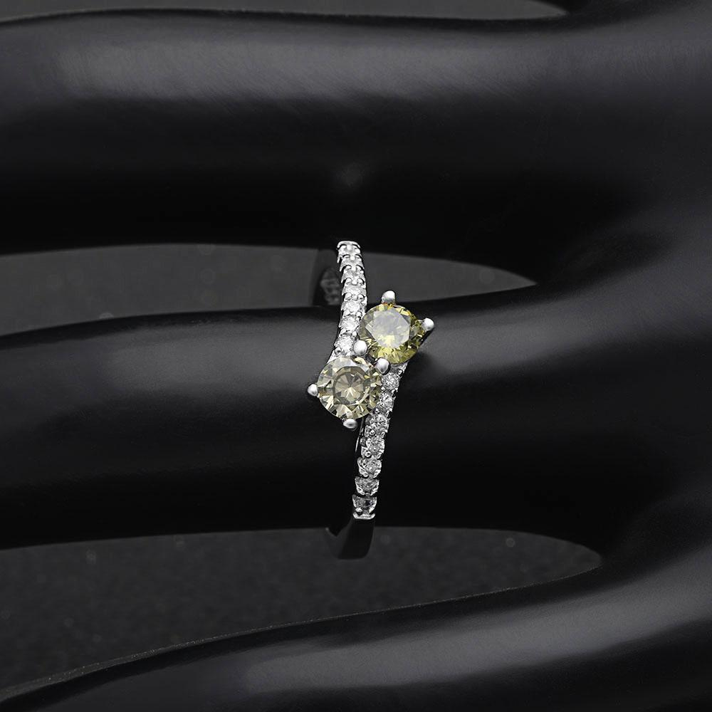 La-Hermosa™ August Birth Ring (Peridot)