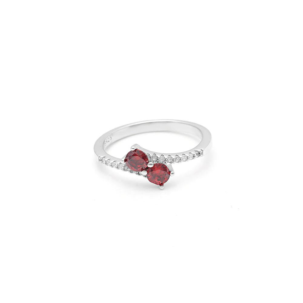 La-Hermosa™ July Birth Ring (Ruby)