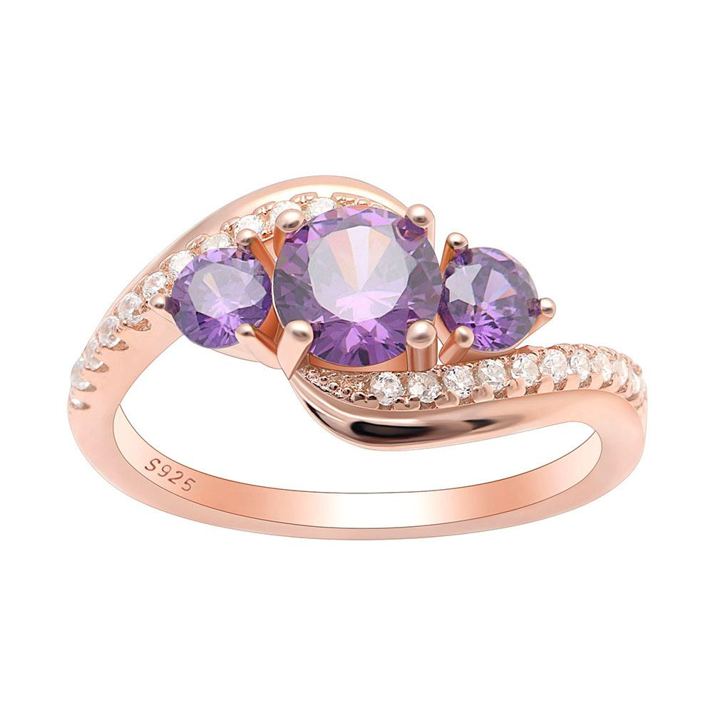 June Birth Ring (Alexandrite)
