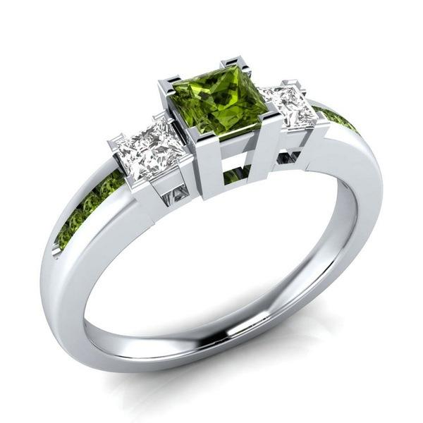 Eve™ Peridot Ring (August Birthstone)