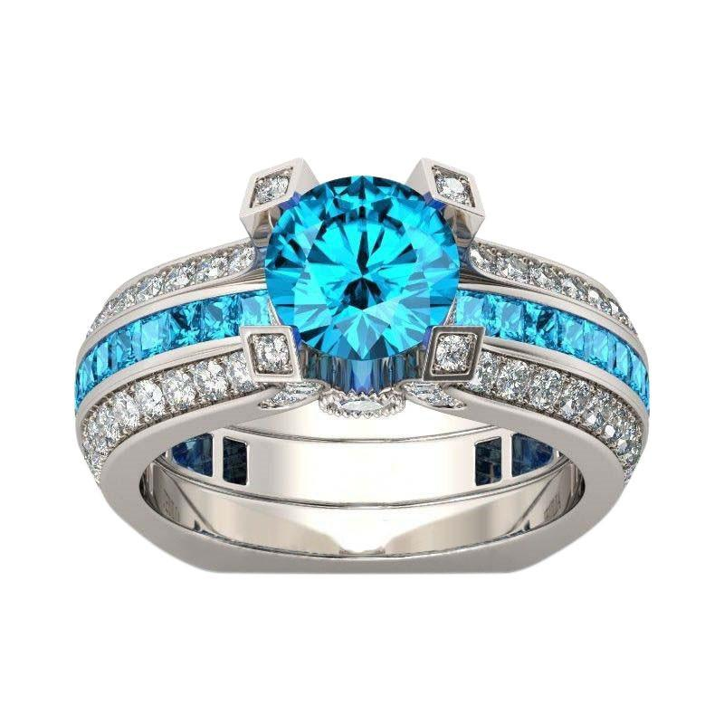 birthstone rings silver zodiac ring leo