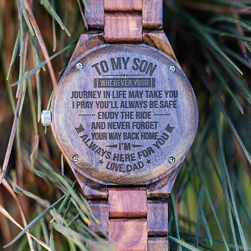 Son - Your Way Back Home - Wood Watch