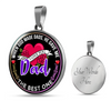 The Best Dad - Pendant Necklace