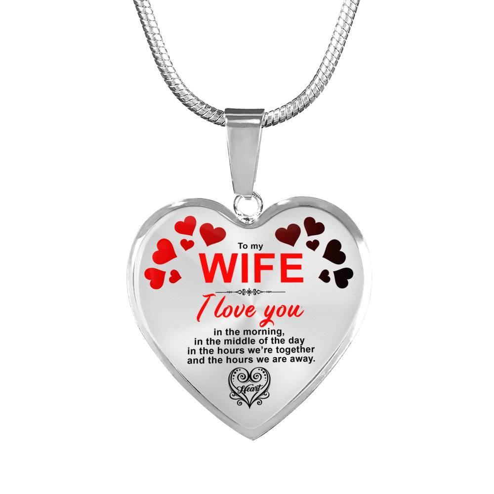 I Love You Always - To My Wife - Necklace