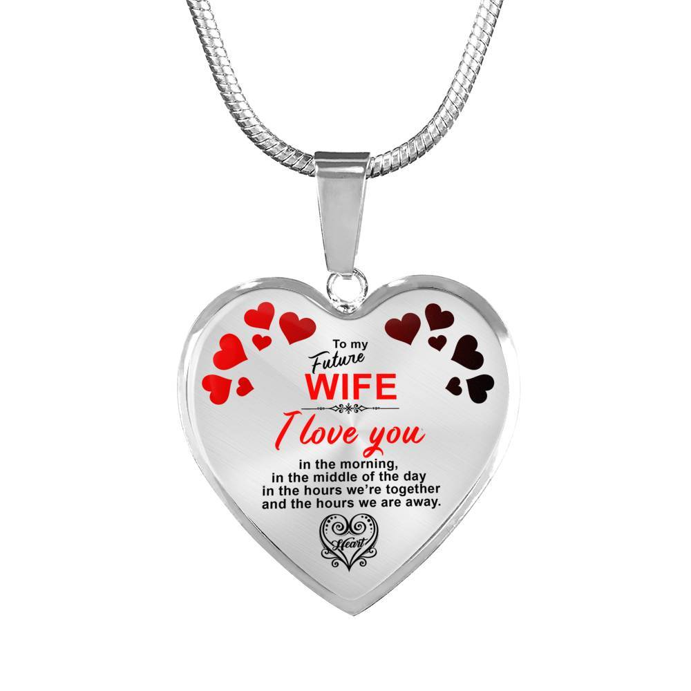 I Love You Always - My Future Wife - Necklace