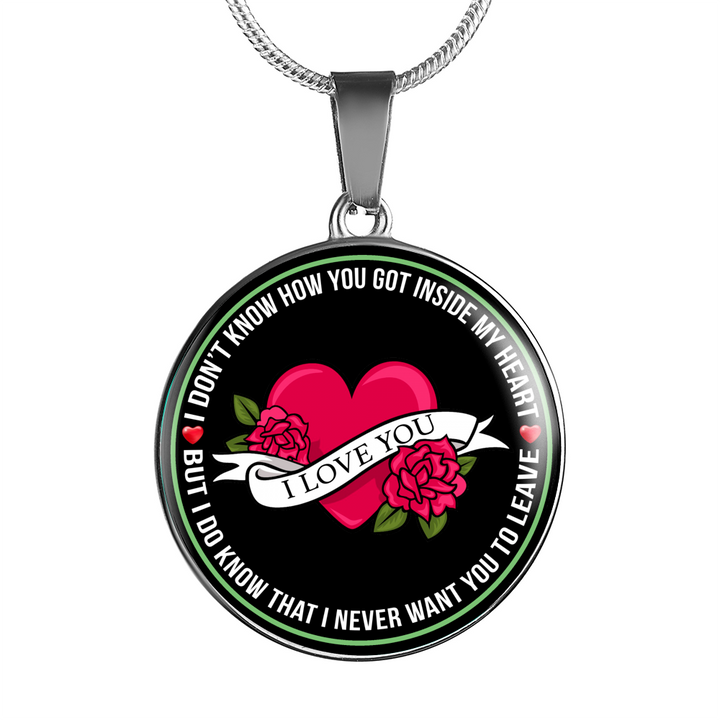 I Love You - Pendant Necklace