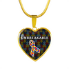 Unbreakable - Autism Awareness Pendant Necklace & Bangle