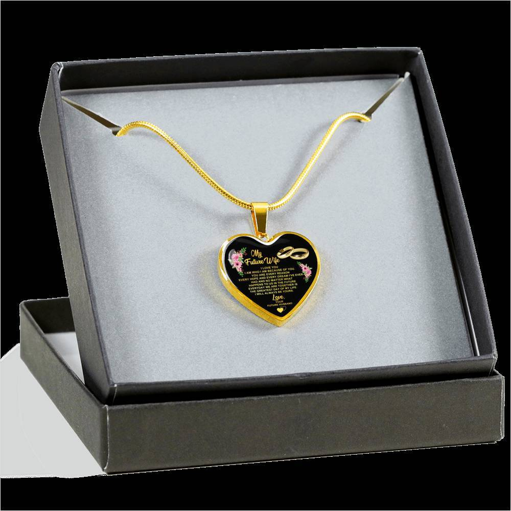 My Future Wife - Heart Pendant Necklace