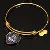 Breast Cancer Awareness Necklace & Bangle
