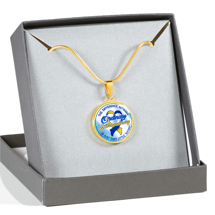 Down Syndrome Extraordinary Necklace