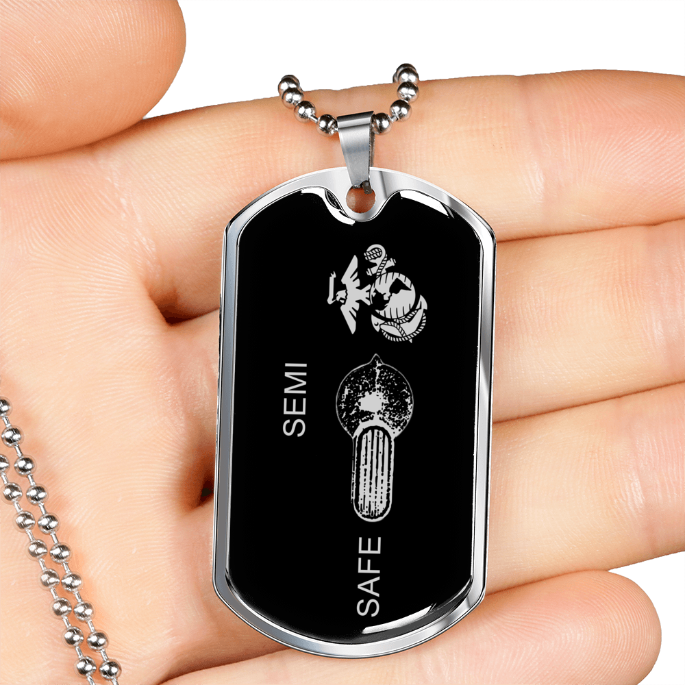 Go Full Marine - Limited Edition Dog Tag