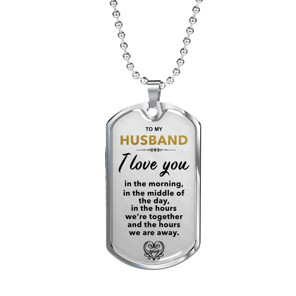 I Love You Always - My Husband - Keepsake Tag