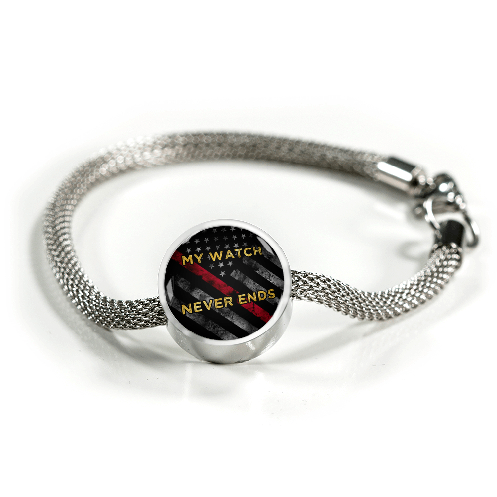Retired  Firefighter's - Charm Bracelet