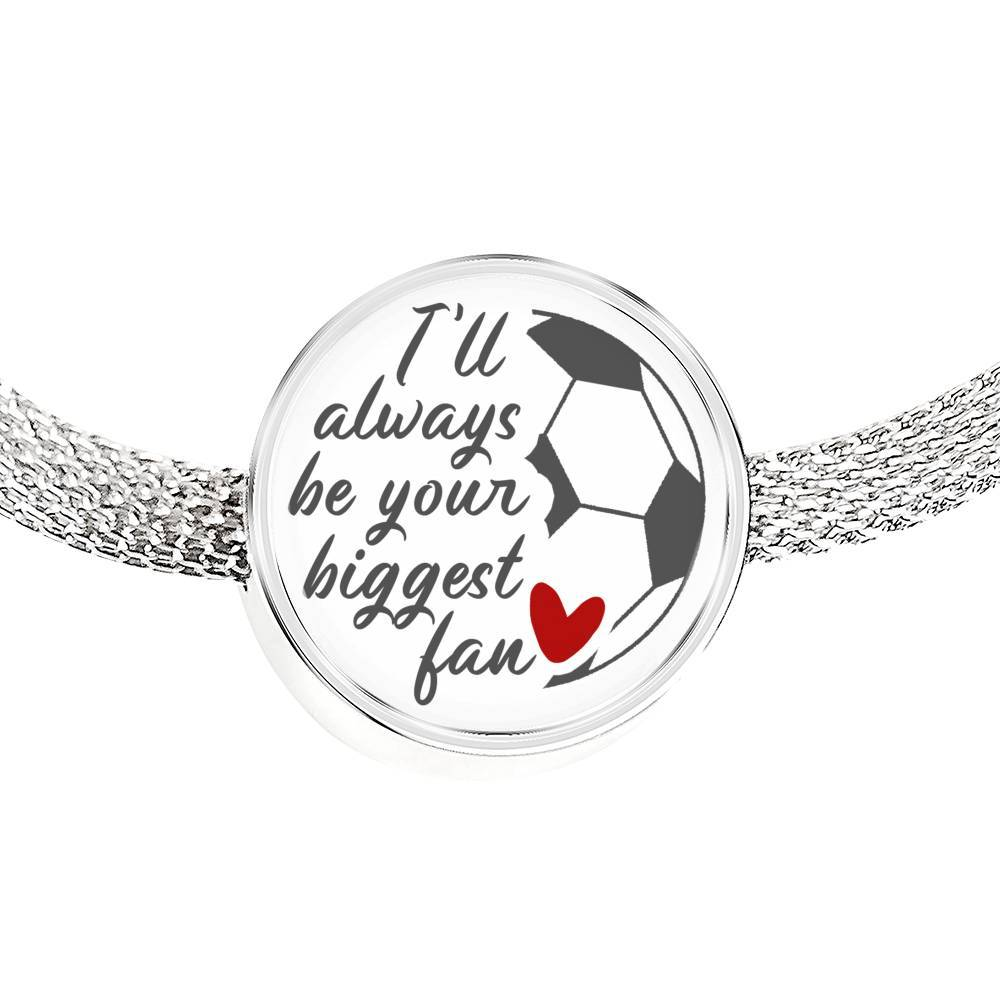 Your Biggest Fan - Soccer Bracelet