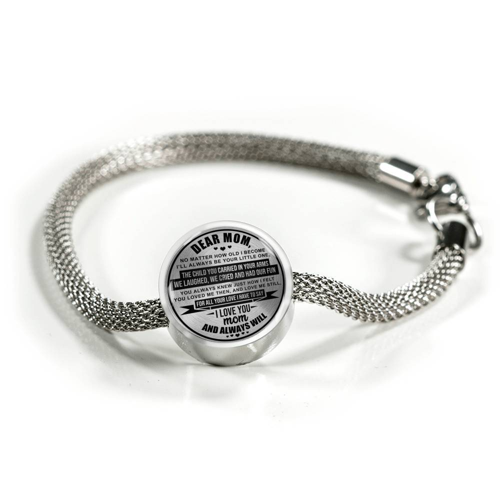 Dear Mom - Keepsake Bracelet