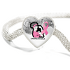 Unbreakable - Breast Cancer Support Charm Bracelet