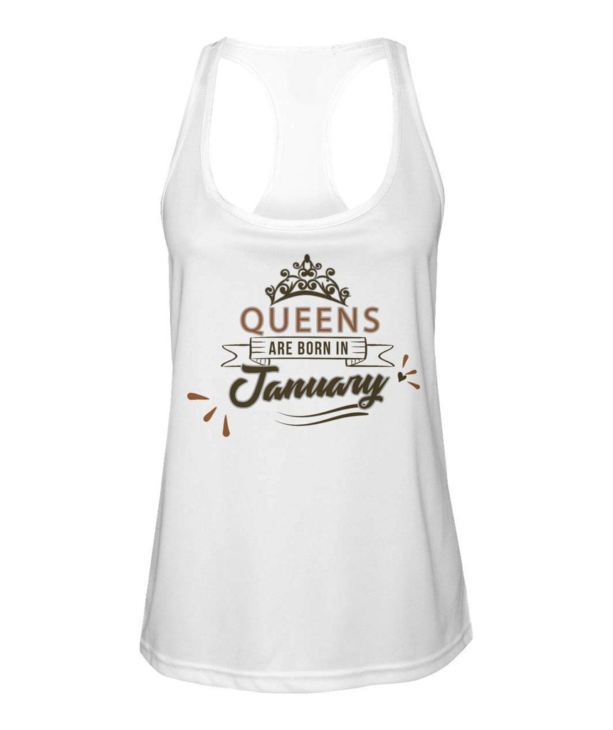 January Queen Racer-back Tank