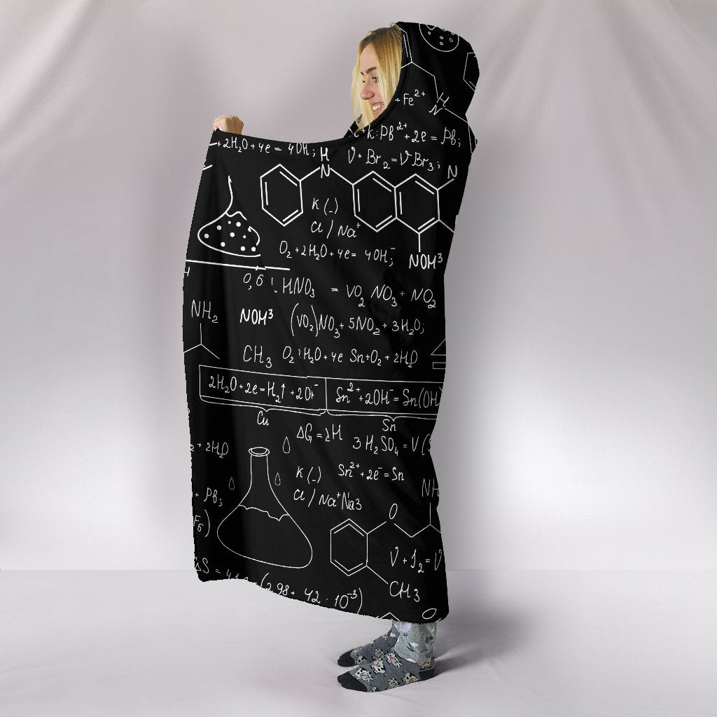 Chemistry Love Comfy Hooded Blanket