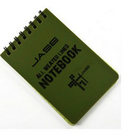 3 Waterproof Notepads