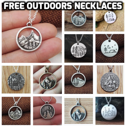 Outdoors Pendant Necklaces LIMITED TIME OFFER