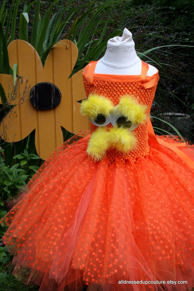 The Lorax inspired Tutu Dress Costume