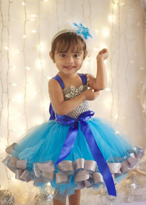 Winter Wonderland Snowflake Inspired Tutu Dress Costume