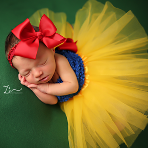 Snow White Newborn Baby Princess Dress