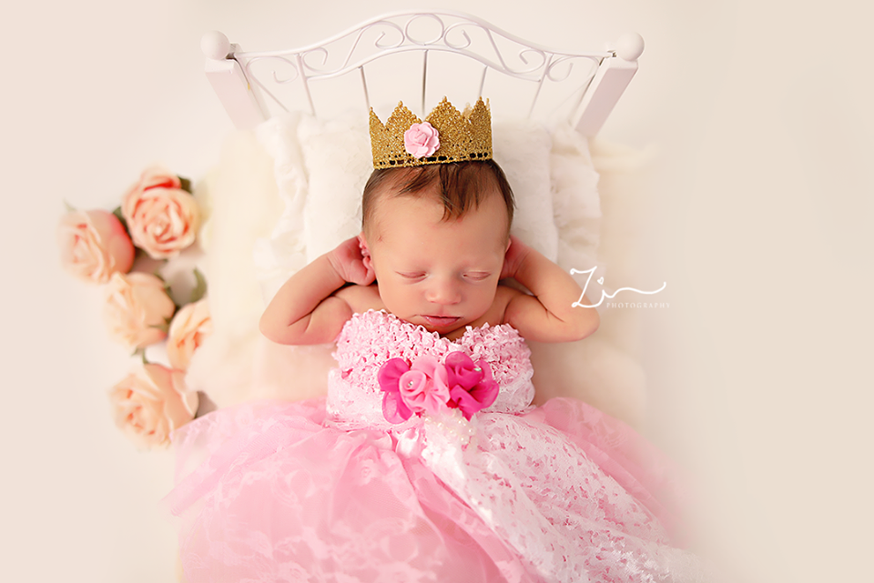 Sleeping Beauty Newborn Baby Princess Dress