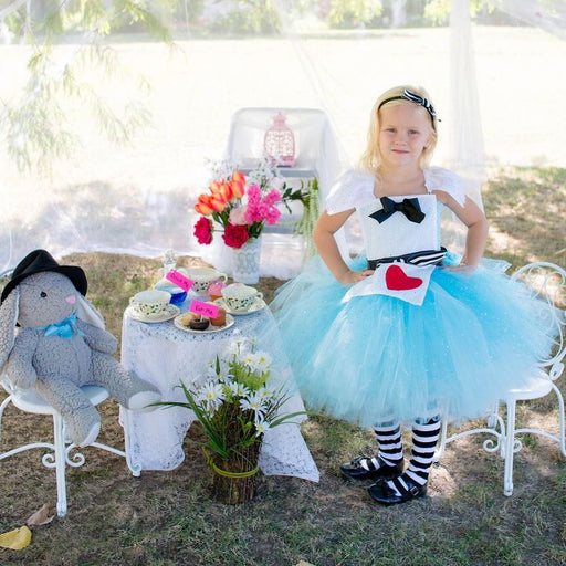 Alice In Wonderland Inspired Tutu Dress Costume