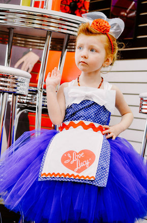 I Love Lucy Inspired Retro & Vintage Style Dress